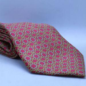 Hermes Neck Tie - 100% Silk- 7694